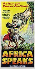 Africa Speaks! 3-sheet poster.