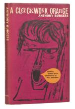 A Clockwork Orange first edition inscribed and signed by Anthony Burgess to producer Si Litvinoff.