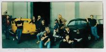 Annie Leibovitz signed American Graffiti cast photograph for Vanity Fair.