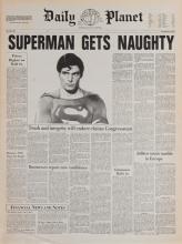 Superman III prop newspapers.
