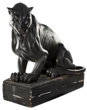 Screen used Clock Tower Panther from Back to the Future.