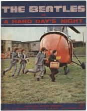 A Hard Days Night  vintage original program.