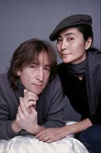 John Lennon and Yoko Ono (7) vintage original color slides by Jack Mitchell.