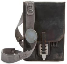 """Plutarch Heavensbee"" satchel from  The Hunger Games: Mockingjay - Part 1 ."