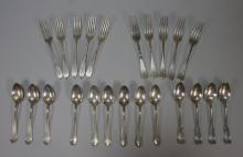Lot Sterling Silver Tiffany JE Caldwell Flatware