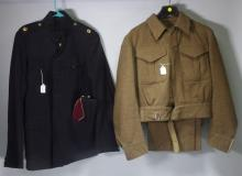 WWII British Military & Medical Officers Uniforms