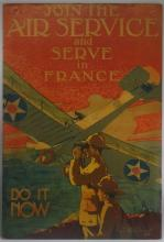 WWI United States Aviation Recruitment Poster