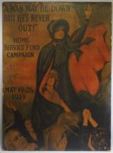 WWI US Salvation Army Home Front Poster