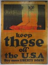 WWI US Austria Campaign Liberty Bond Poster