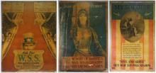 Three WWI US War Saving Stamp Uncle Sam Posters