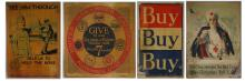Four WWI YMCA YWCA Salvation Army Loan Posters