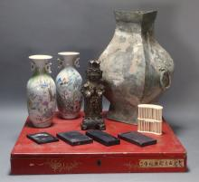 Interesting Antique Chinese Estate Lot
