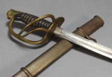 Civil War Light Cavalry Saber Sword Attrib. Ames