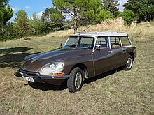 Citroën Break ID20F, moteur 2,3L, année 30/11/1970