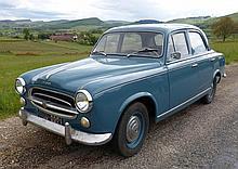 Peugeot 403 - Date de 1ère mise en circulation : 01/01/1957