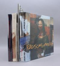6 Books (1 signed by Bob Rauschenberg).