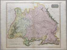 5 Maps incl: PRAEFECTURA PICCARDIAE [c.1700-1720].