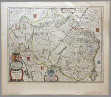4 Dbl-page Maps: Israel, ARRAGONIA REGNUM, MidEast