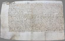 Vellum document, possibly May 3, 1478.