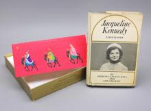 Signed, inscribed: JACQUELINE KENNEDY.