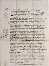 4 Legal Documents,1801-17.