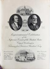 Program signed by 2 Supreme Court Justices.