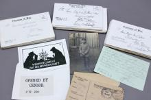 Archive of Dr. Henry Jordan: WW1 POW & Ambassador