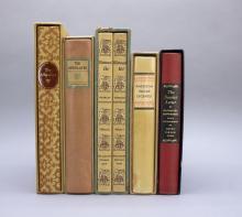 5 Titles (6 Vols): Limited Editions Club.