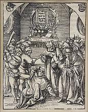 2 Woodcuts - Lucas Cranach, from: The Martyrdom...