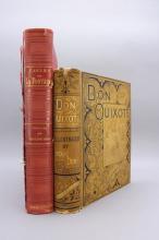 2 Dore Books: FABLES DE LA FONTAINE, DON QUIXOTE.