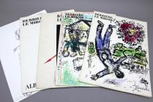 DERRIERE LE MIROIR. 5 issues, incl 2 Chagall.