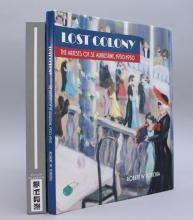 2 Books: LOST COLONY + ON LINE: DRAWING...