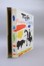 Pablo Picasso. TOROS + TOREROS. Abrams, (1961).