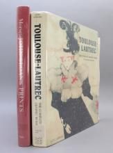 2 Titles: TOULOUSE-LAUTREC + JOHN SLOAN'S PRINTS.