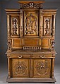 Renaissance Revival carved buffet.