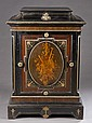 19th century Napoleon III ebonized cabinet.