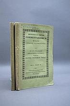 COMMENTARIORUM DE PLANTIS AFRICAE 2 Vols. 1835-37.