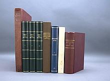 8 Vols incl: Smith. FLORA BRITANNICA. 1800-1804.