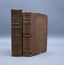 2 Vols incl: PARADISE LOST. 1760. 13 plates.