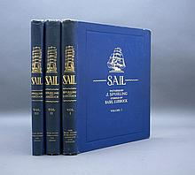 SAIL: The Romance of the Clipper Ships. 3 Vols.