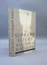 Signed by William H. Rehnquist: THE SUPREME COURT.