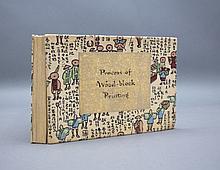 PROCESS OF WOOD-BLOCK PRINTING. [Ca. 1940.]