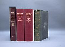 5 Vols incl: Clarus. BIBLIOTHECA ZOOLOGICA. 1861.