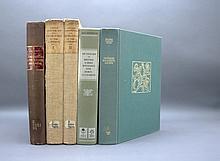 5 Vols: Pritzel, Arnold Arboretum, 2 others.