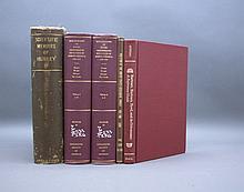 5 Vols incl: BIBLIOGRAPHY OF FOSSIL VERTEBRATES...