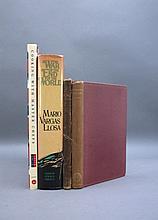 4 Signed Books incl Mario Vargas Llosa.
