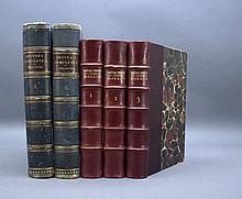 5 Vols incl: MEMOIRES DU GENERAL BON DE MARBOT.