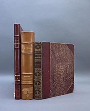 3 Books incl: THOUGHTS UPON HUNTING. 1802.