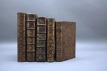 5 Books incl: OPUSCULES DE M. LE CHER. DE PARNY.