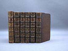 6 Vols incl: OEUVRES DE MAITRE FRANCOIS RABELAIS.